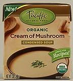Pacific Natural Foods Organic Condensed Soup Cream Of Mushroom -- 12 fl oz