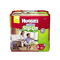 Huggies Little Movers Slip-On Diapers, Step 5, 50 Count (Pack of 2)