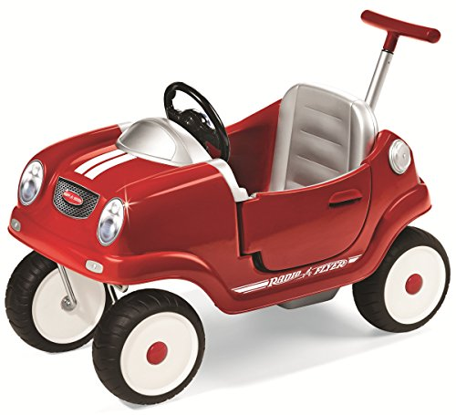 Radio Flyer Steer 'N Stroll Coupe (Red Pedal Car)