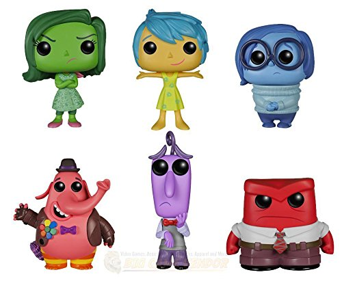 Funko POP Disney/Pixar: Inside Out Complete Bundle Set