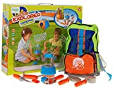 Little Explorer Camping Set 008-80C - tools toy set for kids with lantern - Backpack with supplies