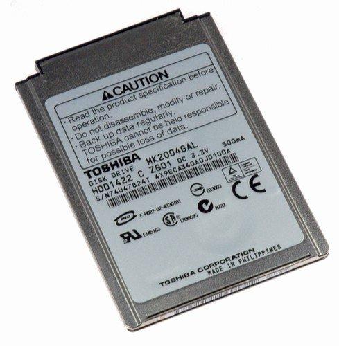 Toshiba 15GB UDMA/100 ATA-5 4200RPM 1.8-inch Mini Hard Drive