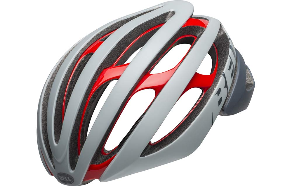 BELL(ベル) ヘルメット Z20 ミップス Z20 MIPS グレー/クリムゾン Mサイズ 2019年モデル   B07JZ4KKML