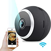Woaser Security Camera – Rechargeable Wire-Free HD Camera with Audio, Indoor/Outdoor, Night Vision