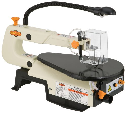 The best scroll saw for the money 2018 complete buying guide shop fox w1713 16 inch variable speed scroll saw greentooth Choice Image
