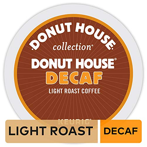 Donut House Collection Donut House Decaf, Single-Serve Keurig K-Cup Pods, Decaffeinated Coffee, 96 Count