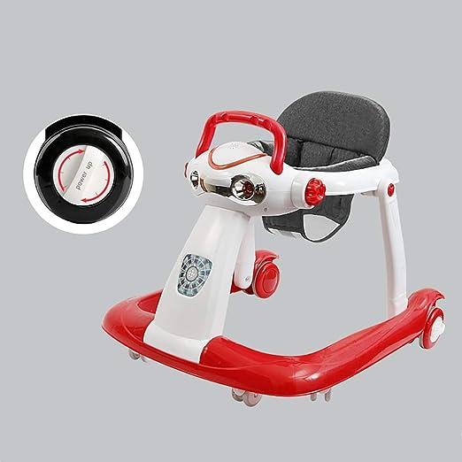 LFY Andador para bebés 2 en 1: posición sentada o Caminando, fácil ...