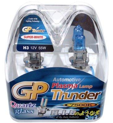 GP Thunder - SGP75K-H3 - H3 7500K 55W Standard Wattage Bulb - 2 Pack