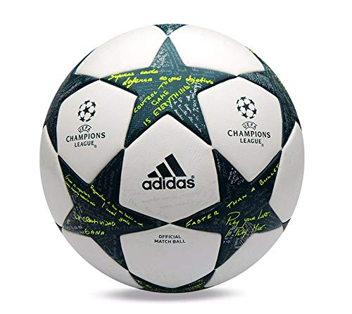 adidas 2016 UEFA Champions League Official Game Soccer Balls White/Green