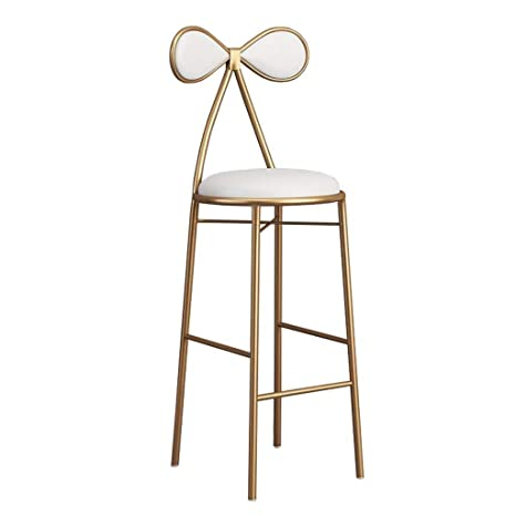 Incredible Amazon Com Bar Chair Bow Chair Backrest Kitchen Bar High Theyellowbook Wood Chair Design Ideas Theyellowbookinfo