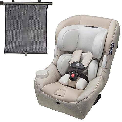 Maxi-Cosi USA Pria 85 Max Convertible Car Seat – Nomad Sand with BONUS Retractable Window Shade