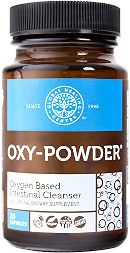 Oxy-Powder - Oxygen Based Colon Cleanser - 20 Capsules