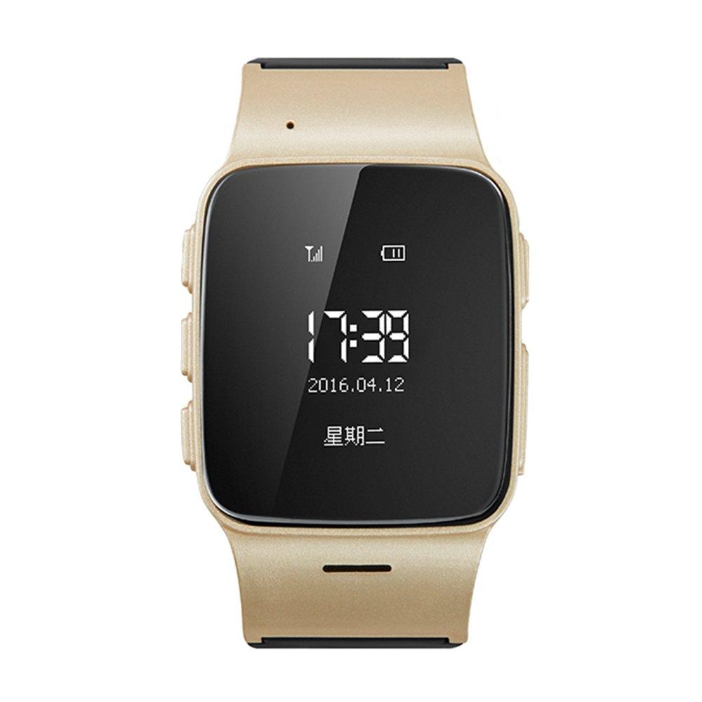 FensAide Anti verlorene SOS D99 ältere Intelligente Uhr GPS + GSM + Wifi Verfolger-Intelligente Uhr Rose Gold für Android-Telefon