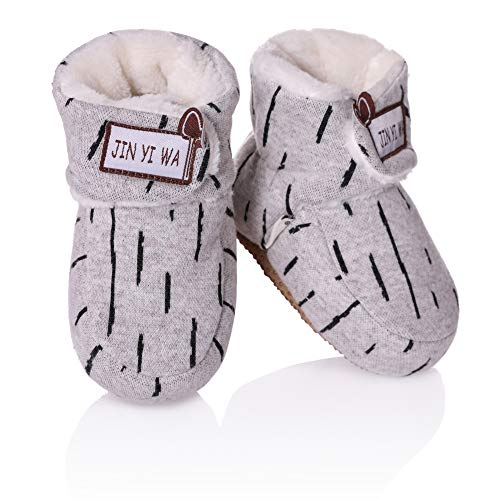 Pictures of RONGBLUE Newborn Infant Baby Girls Boys Slippers 1