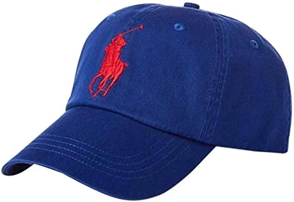 Polo Ralph Lauren - Gorra de béisbol de algodón Chino - Azul ...