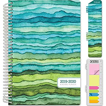 Amazon.com : Planners 2019-2020 Academic Year Day Planner ...