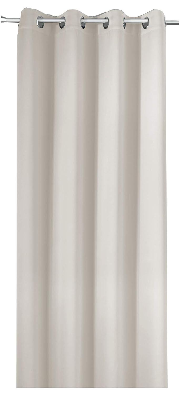 NOVUM fix Gardine Verdunkelungsvorhang mit OESEN Thermoeffekt  MASSANFERTIGUNG bis 350cm Länge  Off-Weiß