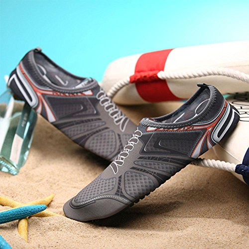 UMIWE for Aqua Womens Yoga Water Shoes Swim Aerobics Shoes Pool Surf Socks Dry Mens Quick Water Beach Shoes OqzrSO