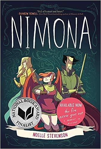 Amazon.com: Nimona (9780062278227): Stevenson, Noelle, Stevenson, Noelle:  Books