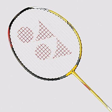 Yonex Voltric LD 100 Graphite Strung Badminton Racquet, 4U G4 Gold Badminton Racquets