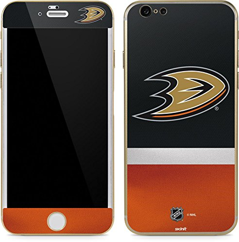Skinit Anaheim Ducks Jersey iPhone 6/6s Skin - Officially Licensed NHL Phone Decal - Ultra Thin, Lightweight Vinyl Decal Protection -