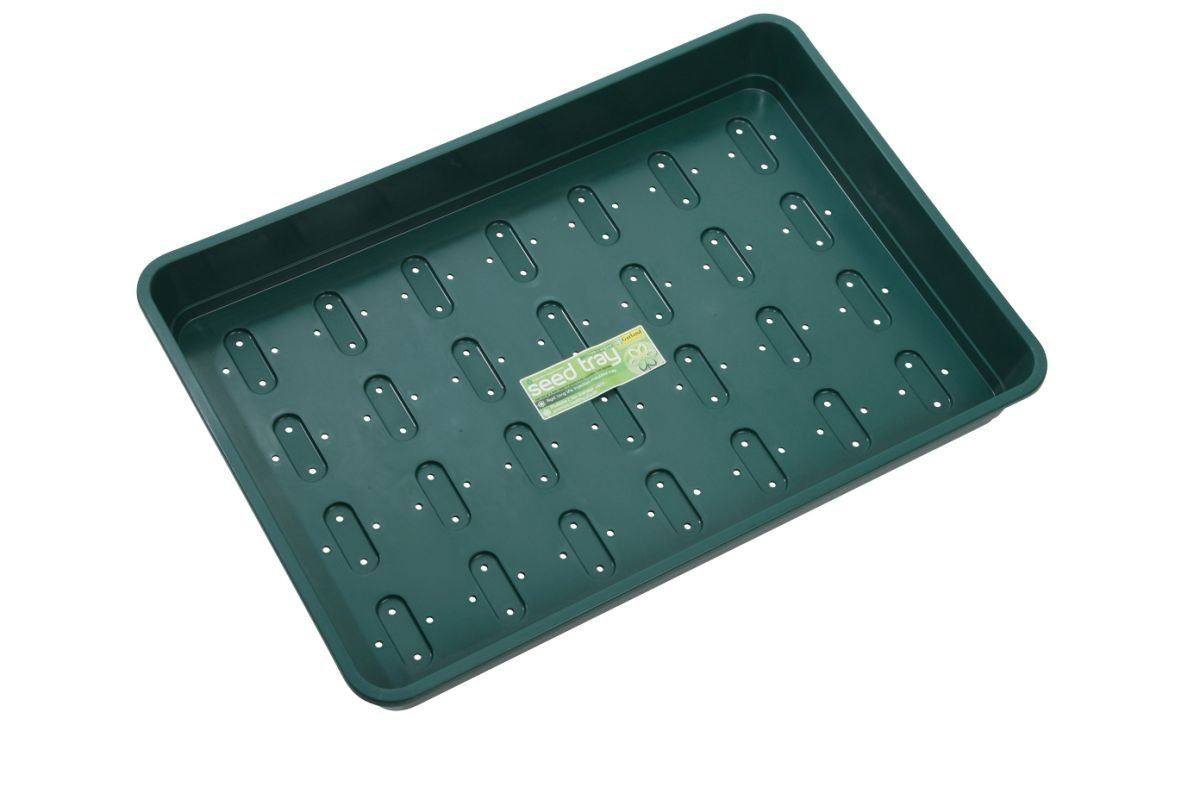 Garland GAL07GH1 Seed Tray with Drainage Holes, Green, X-Large