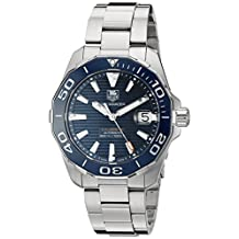 TAG Heuer Men's WAY211C.BA0928 Aquaracer Analog Display Swiss Automatic Silver Watch