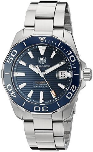 TAG Heuer Men s Aquaracr Swiss Automatic Stainless Steel Sport Watch Model WAY211C.BA0928