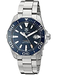 Men's 'Aquaracr' Swiss Automatic Stainless Steel Sport Watch (Model: WAY211C.BA0928)
