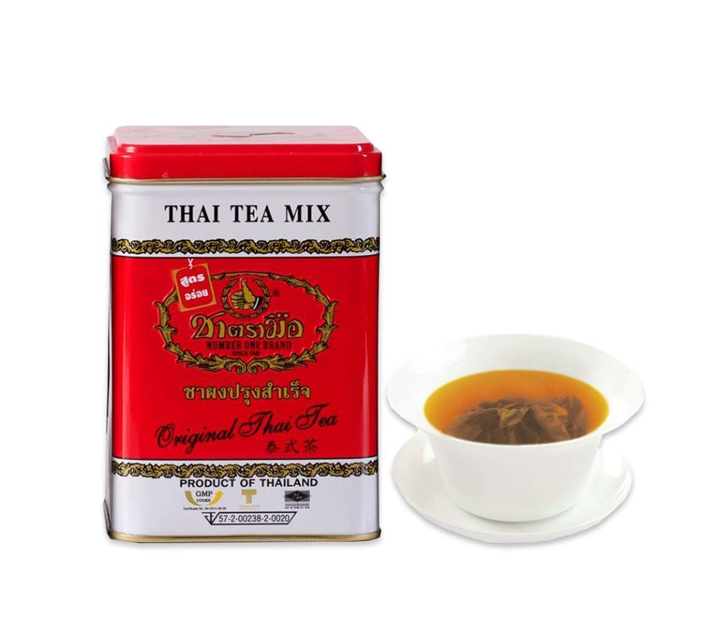 Thai ice tea mix (Vanilla Flavor) Thai Tea mix 50 pack Tea bags