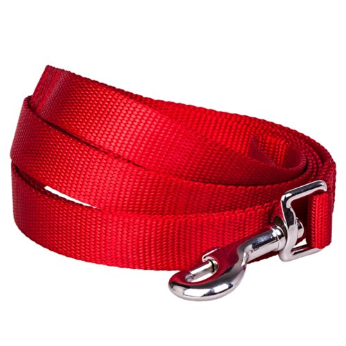 Blueberry Pet 5/8-inch by 5-Feet Better Basic Solid Dog Leash in Rouge Red, Leashes for Small Dog