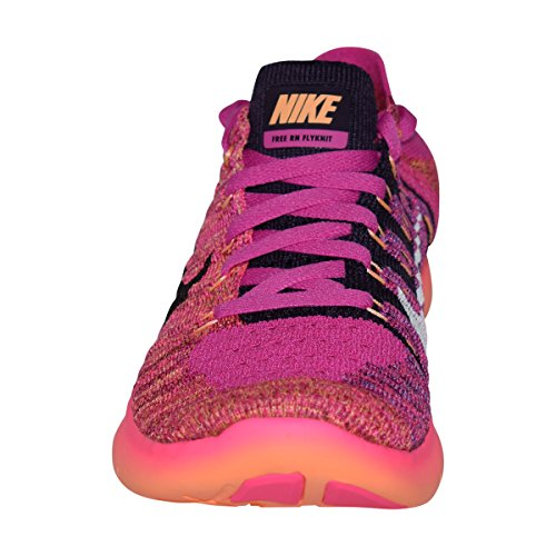 Nike Free RN Flyknit MTLC (GS) Rosa