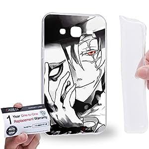 Case88 [Samsung Galaxy J5] Gel TPU Carcasa/Funda & Tarjeta de garantía - D.Gray-man Exorcist Allen Walker Nea Walker 14th Noah Crown Clown 2047