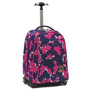 50c6a8b17d Invicta School 206001625-414 Trolley Zaino, Spallacci a Scomparsa, 35,  litri, Poliestere, Rosa