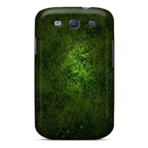 Awesome Grass Flip Case With Fashion Design For Galaxy S3