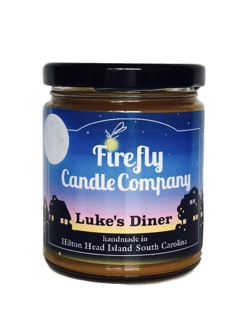 Luke\'s Diner Candle- Gilmore Girls Candle 8oz