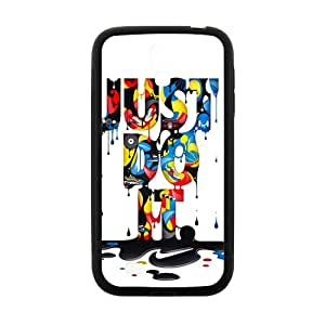 Watercolor Just Do IT New Style High Quality Comstom Protective case cover For Samsung Galaxy S4