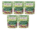 Dr. Earth Pure & Natural Alfalfa Meal 3 lb (Вundlе оf Fіvе)