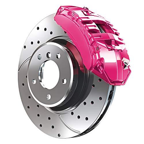 car accessories hot pink - 5