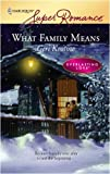 What Family Means (Everlasting Love)