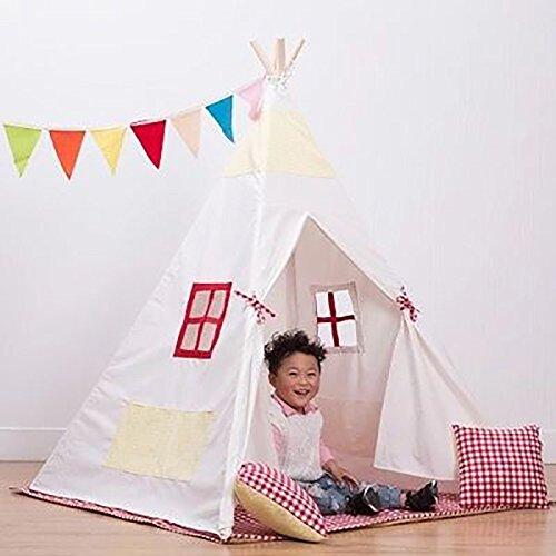NAUY- Spielzeug & Spiele Kinder Spielzelt Spiel Playhouse Kinderspielzeug Spielhaus Portable Große Innen-und Außenbereich Kinderzelt (150 * 120 * 120cm)