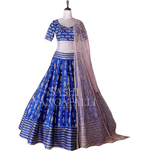 Cucito Per Fashions Esclusivo Indiano Choli Semi Amit Donna Designer Lehenga Xfgqw7Xn4