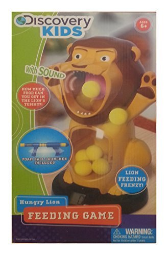 Discovery Kids Hungry Lion Feeding Game by Discovery Kids