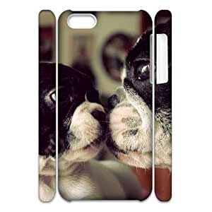 VNCASE Cute Dog Phone Case For Iphone 4/4s [Pattern-1]