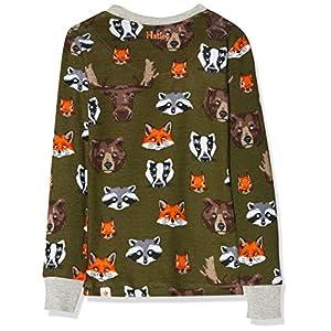 Hatley Long Sleeve Organic Cotton Pyjama Set – Woodland Critters