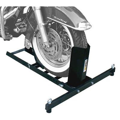 MaxxHaul 70271 Adjustable Motorcycle Wheel Chock Stand Heavy Duty 1800lb Weight Capacity: Automotive