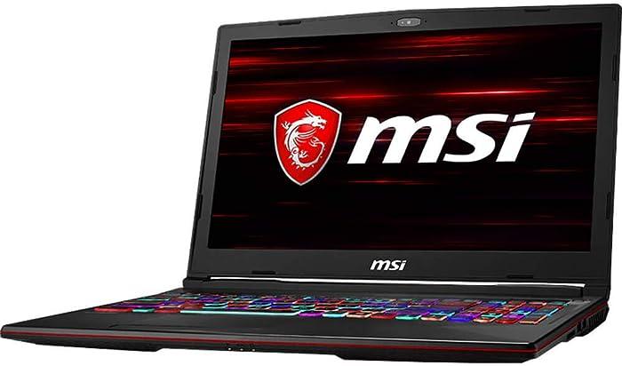 MSI GL639SDK611 GL 15.6, I7, 16GB, 512GB SSD, Windows 10 Gaming Laptop