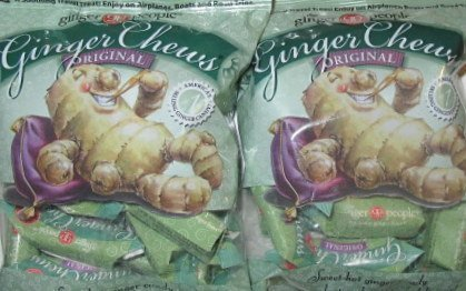 The Ginger People Original Ginger Chews, 5 oz (Pack of 2) Gluten Free by The Ginger People