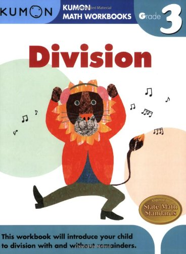 Grade 3 Division (Kumon Math Workbooks)
