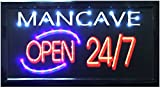 "Crystal Art 79488 ""Sign of the Times"" Man Cave LED Lighted Sign Wall"